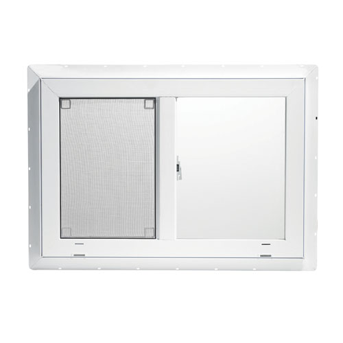 """NorthVision"" PVC-Frame Sliding Window - 48"" x 35"""