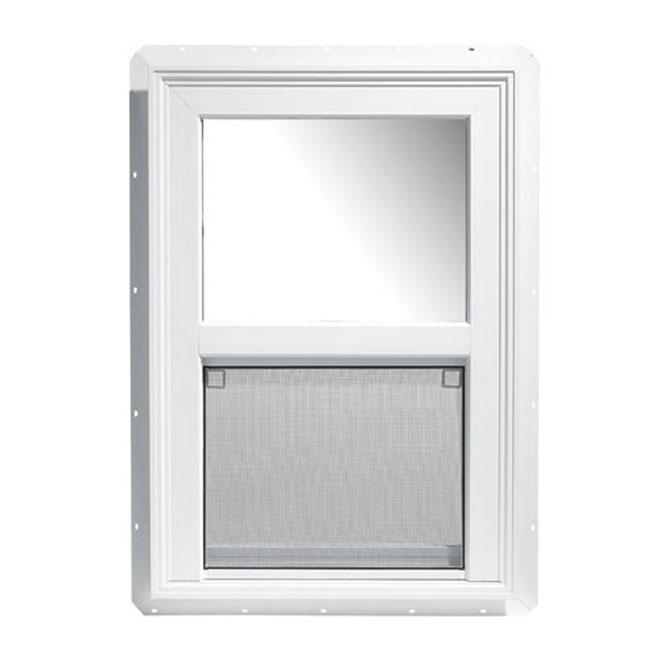 fen tre guillotine simple 30 po x 48 po rona. Black Bedroom Furniture Sets. Home Design Ideas