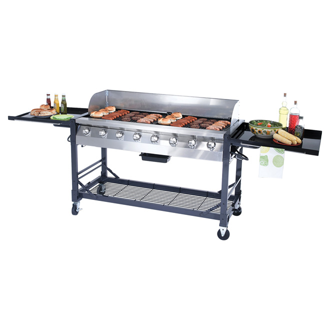 Propane Gas BBQ - 116,000 BTU - 1 000 sq.in.
