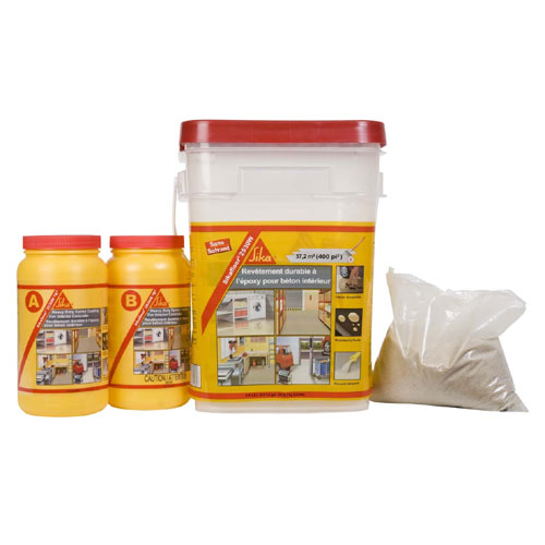 """Sikafloor"" Epoxy paint kit"