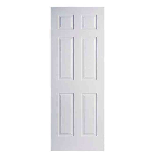 6 Panel Textured Door Rona