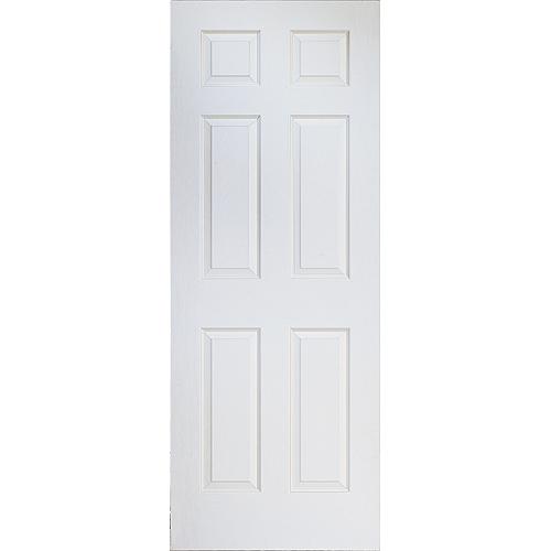 6 panel hollow core interior door rona for Interior panel doors