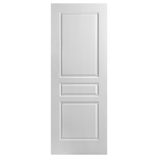 "3-Panel Interior Slab Door 32"" x 80"" - White"