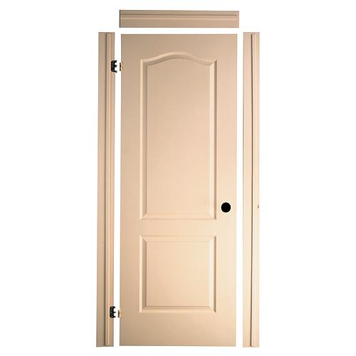 Porte 2 panneaux fast fit 34 x 80 po rona for Masonite porte exterieur