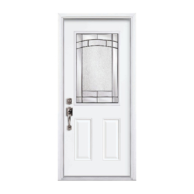 Porte en acier element rona for Masonite porte exterieur