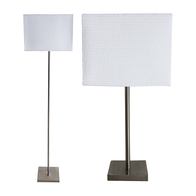 floor lamp and table lamp combo rona. Black Bedroom Furniture Sets. Home Design Ideas