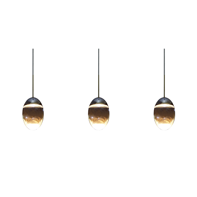 Triple LED Pendant