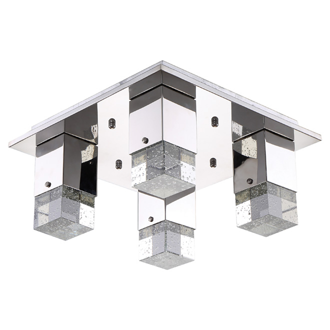 """Emerson"" Flush-Mount Ceiling Light - 14"""