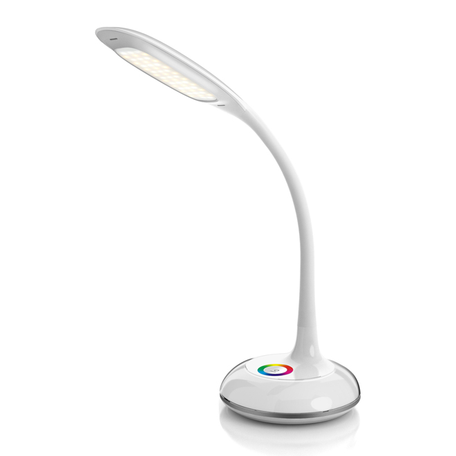 "LED  Table Lamp with Colour-Changing Base- 26"" -5W"