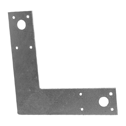 "Steel L Post Strap 1 1/2"" x 6"" x 6"" - Box of 20"