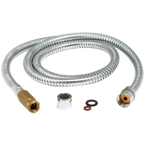 Chrome Hose for Delta Gourmet Kitchen Faucet - 59""