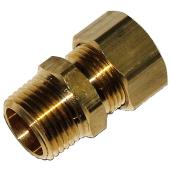 Male brass fitting