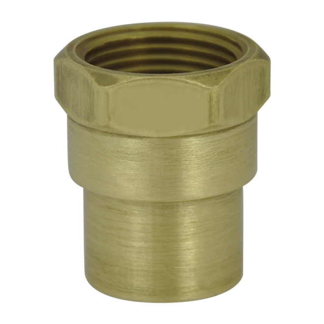 Brass female adapter