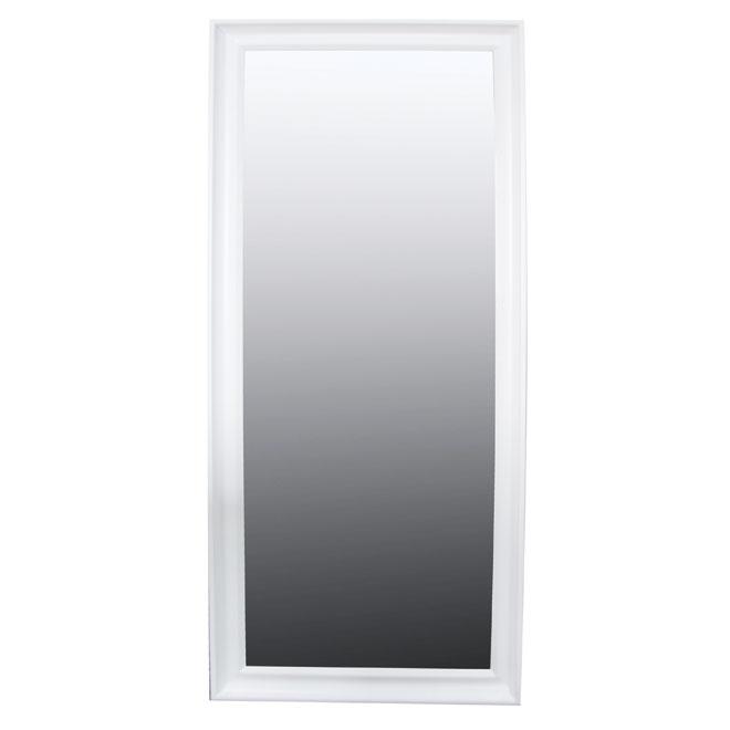 Miroir mural rona for Miroir cadre blanc