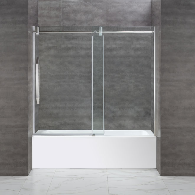 """Antigua"" Tub Door - 59 po"