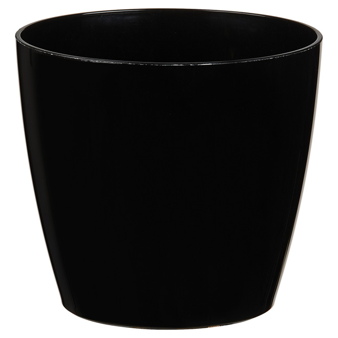 cache pot san remo 6 po noir rona. Black Bedroom Furniture Sets. Home Design Ideas
