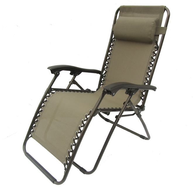 Rona Zero Gravity lounge chair $29.99 April 27-28 @ Rona ...