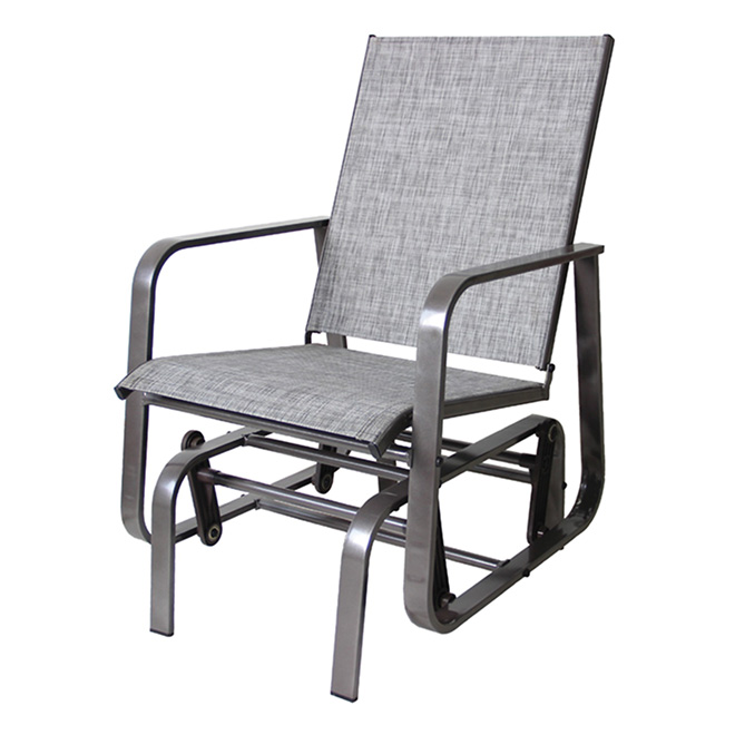 Outdoor rocking chair rona for Club piscine outdoor furniture