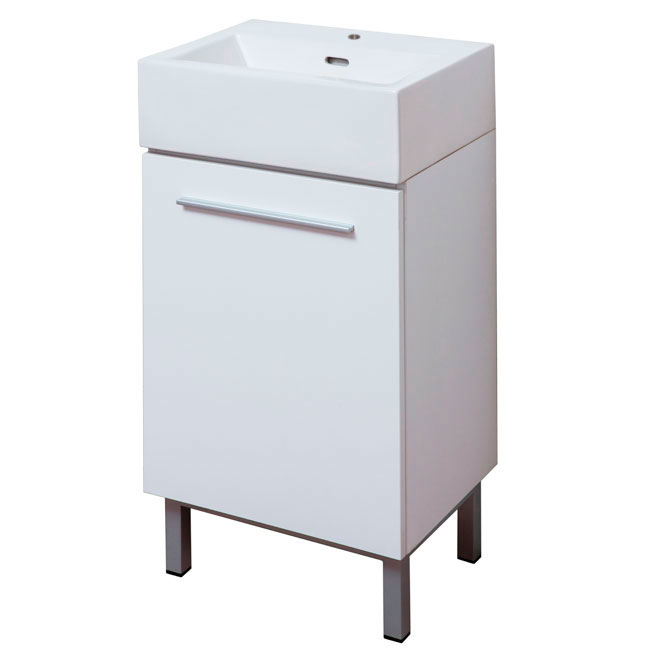 Soho vanity white rona for Meuble canadien