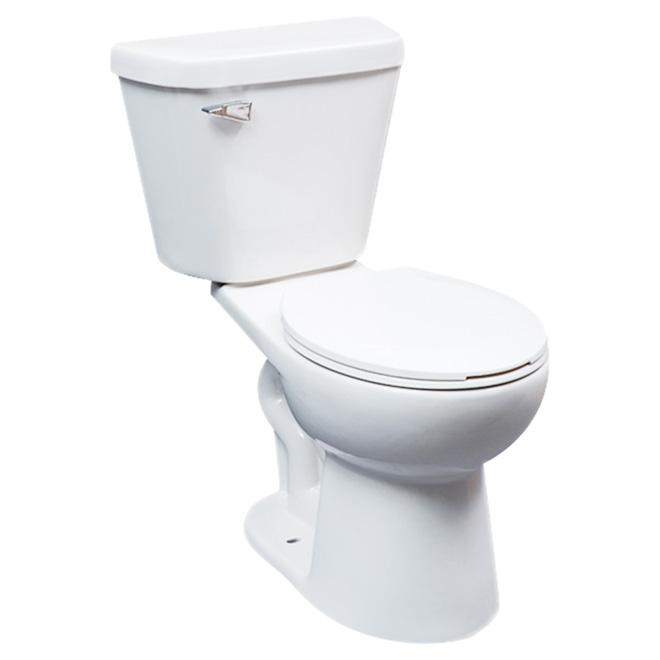round front 2piece toilet comfort 48 l white