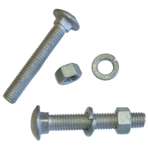 Kit of 8 Bolts, Nuts and Washers