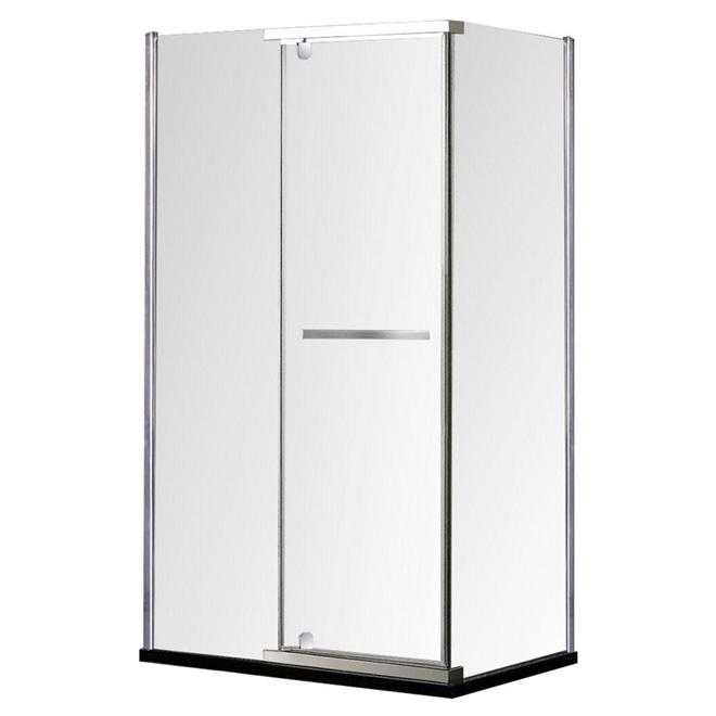 Porte de douche r versible salto 32 po x 60 po rona for Porte de douche rona