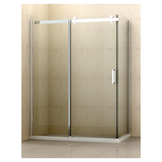 "Side Panel for Dettifoss Shower - 32"" x 75"" - Clear"