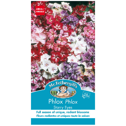 Flowers seed packet