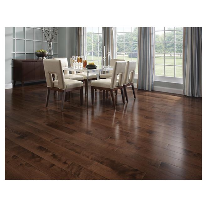 Birch Hardwood Flooring   Cappuccino