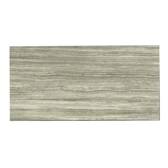 "Tile - ""Silk Steel"" Porcelain Tile - Dark Grey"