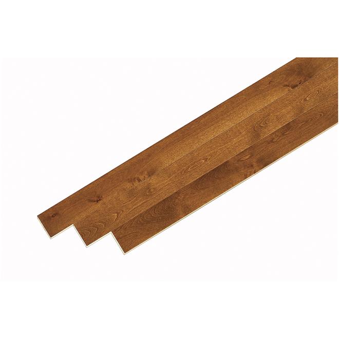Merisier Bois Franc : Plancher de bois franc en merisier, sierra RONA