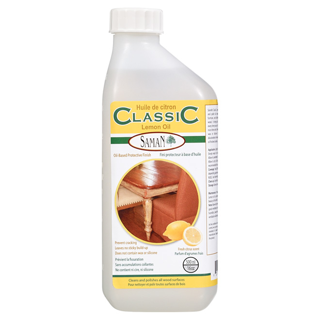 Lemon Oil - Classic - 500 mL