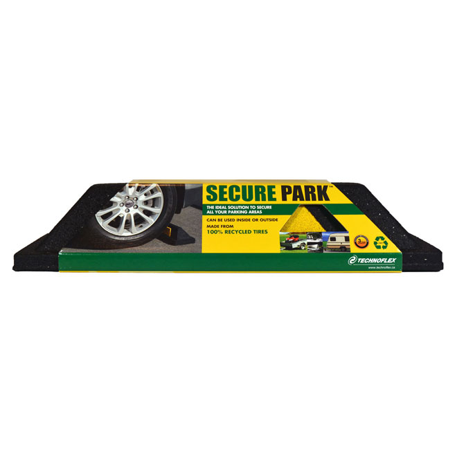 Rubber Parking Curb Black Rona