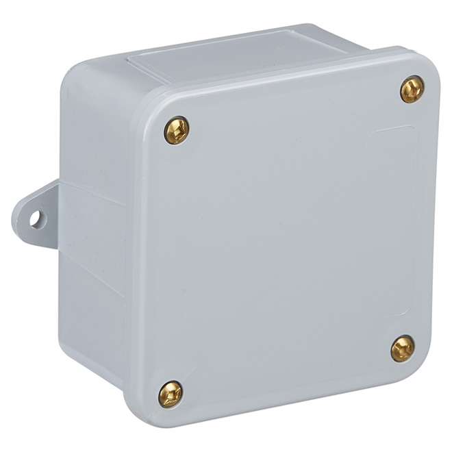 "Junction Box - PVC - 4"" x 4"" x 2"""