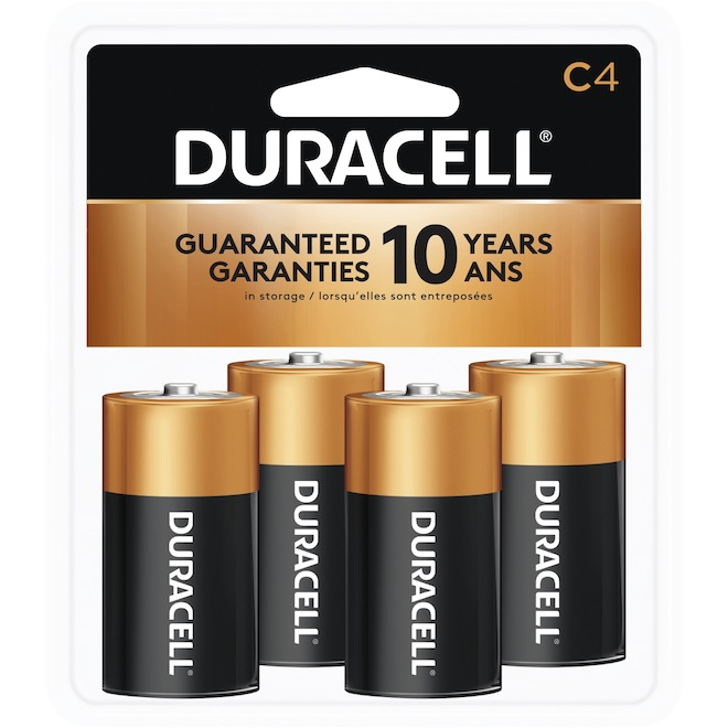 "Pack of 4 ""C"" Batteries"