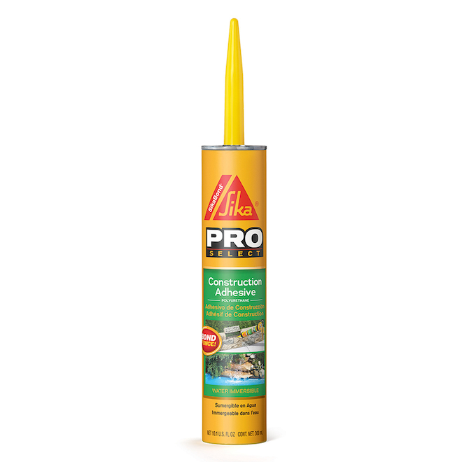 """SikaBond"" Construction Adhesive - 300 mL"