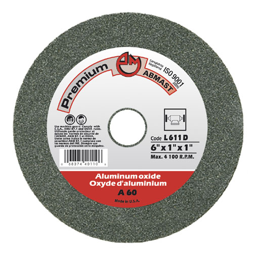 "VITRIFIED ABRASIVES 6X1X1"" GR60"