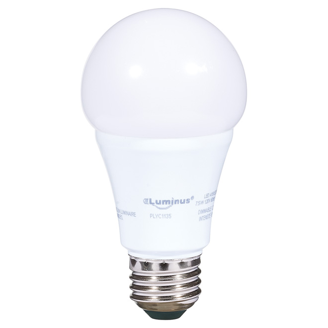7.5W LED Dimmable A19 Bulb - Day Light