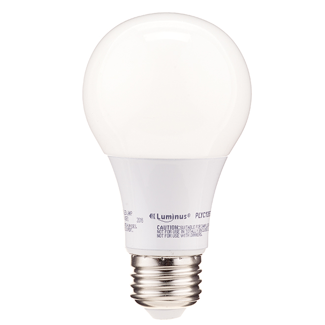 9W LED Non Dimmable A19 Bulb - Day Light - 2-Pack