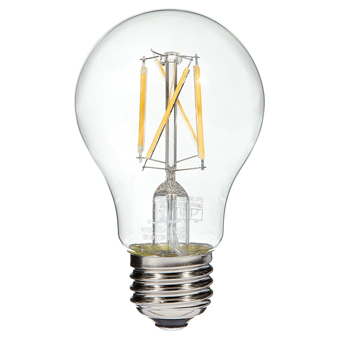 Filament LED bulb - 7.5W/A19 - Warm White