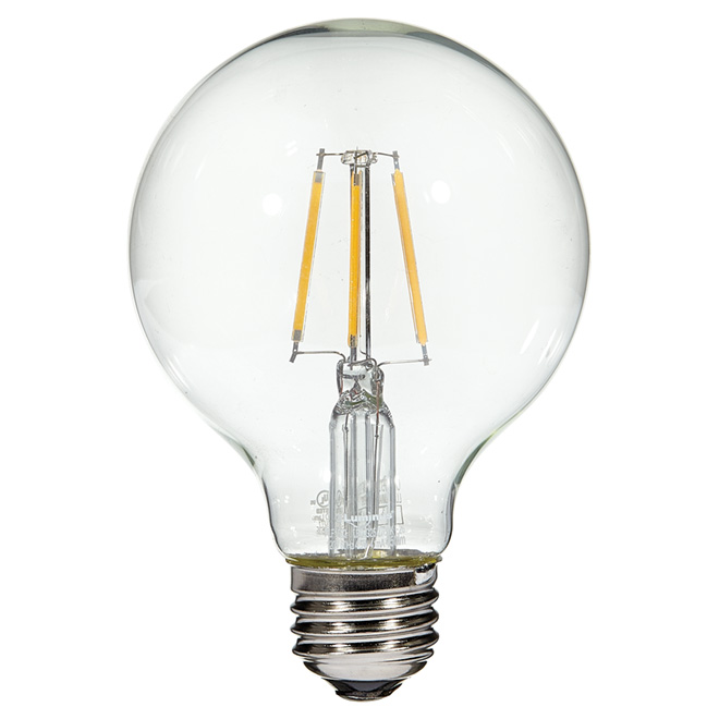 Filament LED bulb - 4.5W/G25 - Warm White