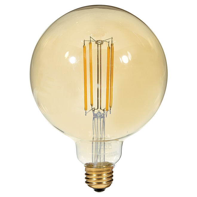 Filament LED bulb - 4.5W/G40 - Candle Light