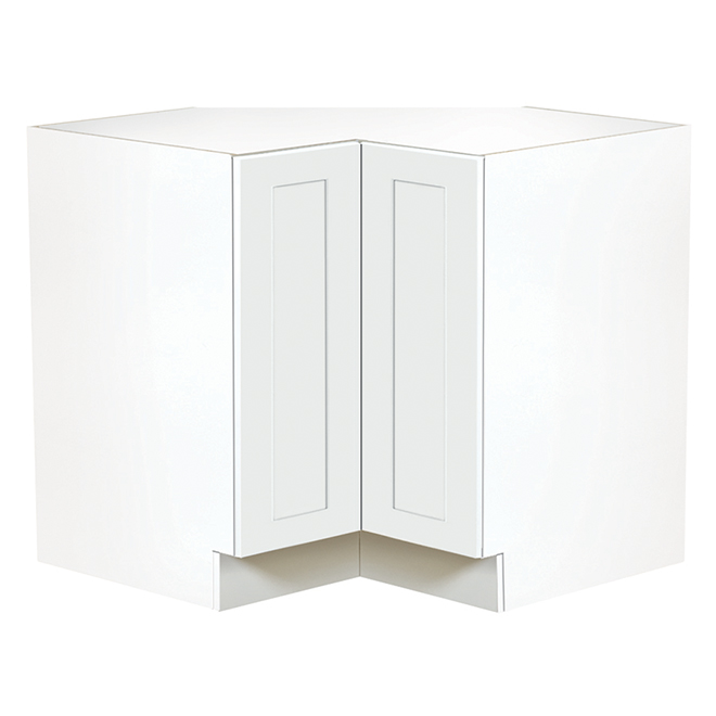 "Corner Kitchen Cabinet - 1 Door - 36"" - White"