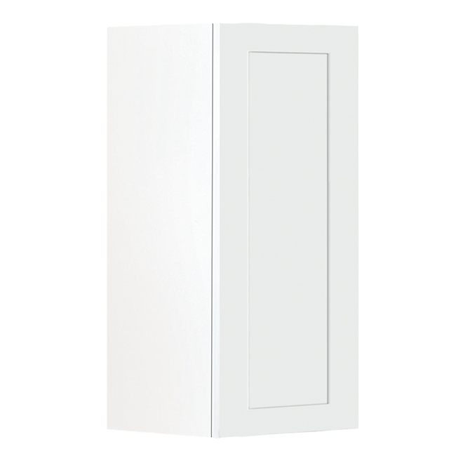 "San Diego 1-Door Kitchen Cabinet - 12"" - White"