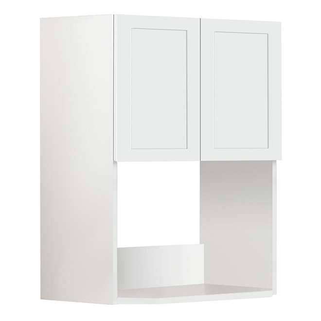 San Diego Microwave Cabinet - White