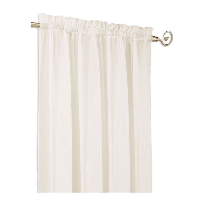 Set of 2 Rod pocket Sheer Panels
