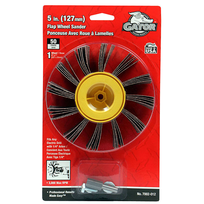 Metal and Plastic Flap Wheel 5""