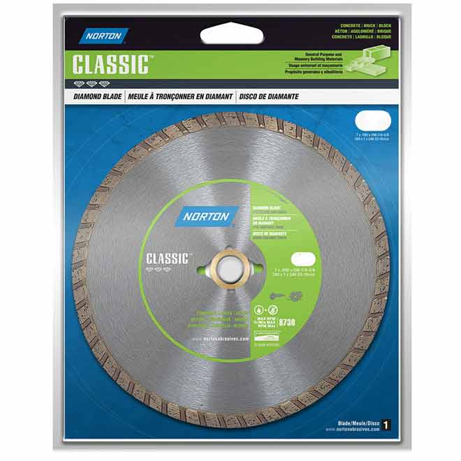 """Classic"" Turbo Diamond Blade - 10"""