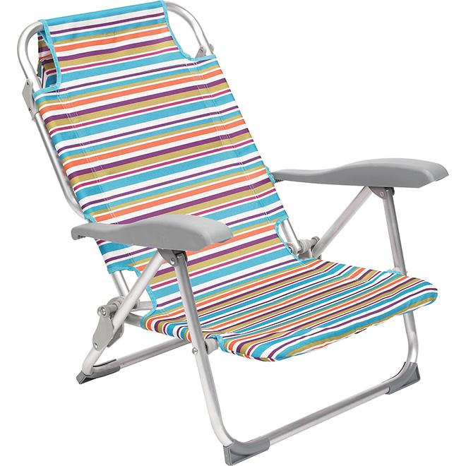 chaise de plage rona. Black Bedroom Furniture Sets. Home Design Ideas