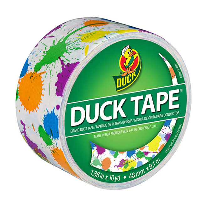 Duck Tape - Paint Splatter